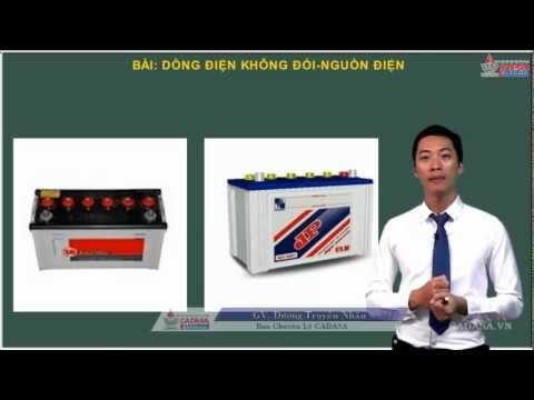 Bài giảng Vật lý 11 - Dòng điện không đổi - Nguồn điện - Cadasa.vn
