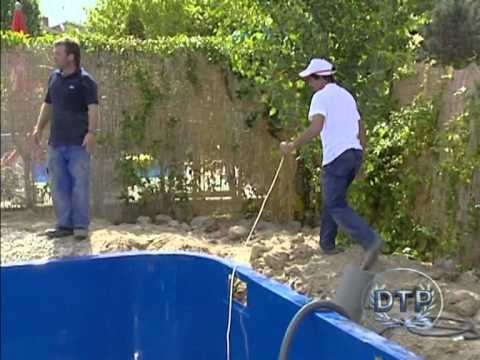 Instalaci n de piscina youtube for Instalacion de piscina