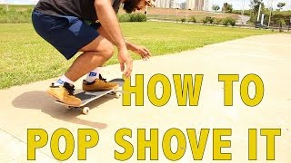 Aula 33 Pop Shove It Passo a Passo ( English Sub)
