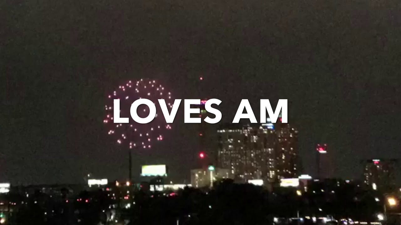 New year's eve fireworks san antonio skyline - YouTube