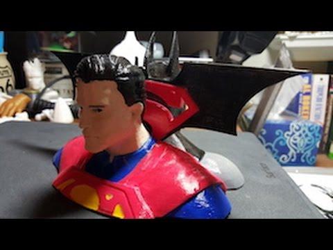 3D Printing Batman vs Superman