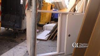 Spazzatour degli ingombranti abbandonati nel quartiere Libertà a Bari