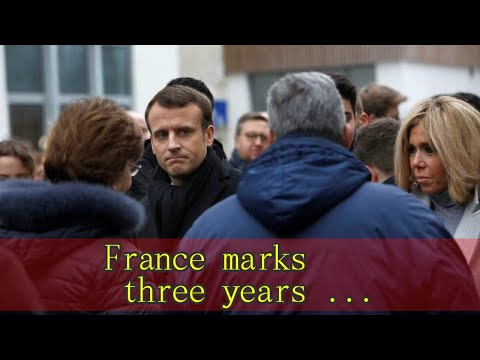 France marks three years since Charlie Hebdo attack, start of jihadi nightmare