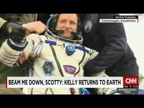 NASA astronaut returns to Earth