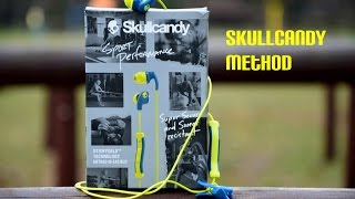 Skullcandy S2CDJY-358 Method Earphone with mic Unboxing & Review