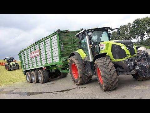 Lohnunternehmen Piening Teil 4 - Maisernte mit Claas Jaguar 980 [Maize harvest in Germany]