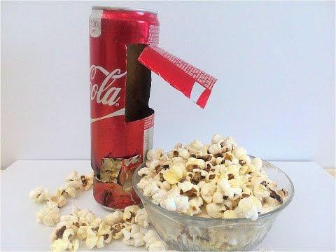 how to make a popcorn machine