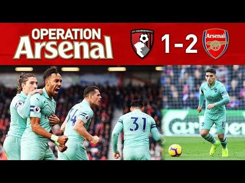 BOURNEMOUTH 1-2 ARSENAL - BACK TO WINNING WAYS!