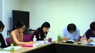 上智大学大学院・社会福祉学専攻・演習の様子(字幕付き)