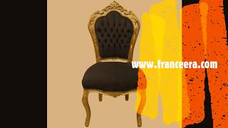 Italian Rococo Baroque Dining Chairs Egypt