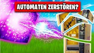 Cube VS Automat 💥 What happens? | Fortnite Season 5 German