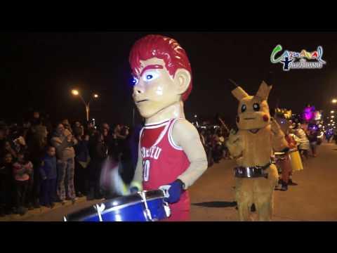 Presentación de todas las murgas, comparsas y carros alegóricos - Carnaval de Tacahuano 2016