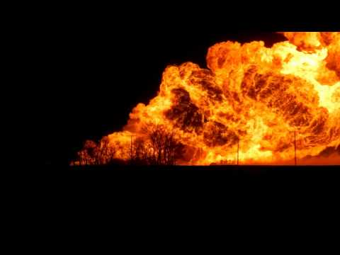 Video;Huge Transcanada Natural Gas Pipeline Explosion in my Backyard