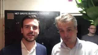 Promo Grote Bubbel College met Joris Luyendijk