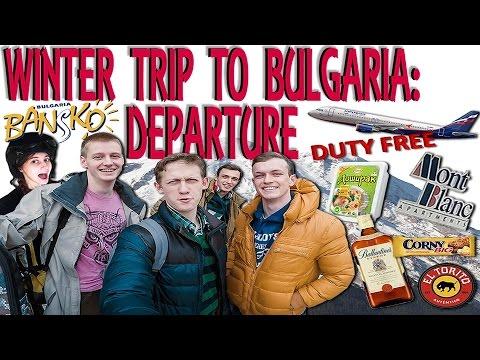 Winter trip to Bulgaria: Departure