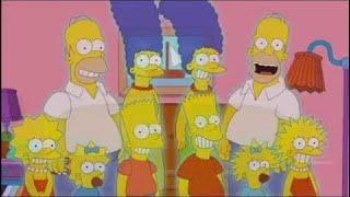 Retrato Familiar de Los Simpsons Fantasmas - La Casita del Horror 25 & Cartoon Movies