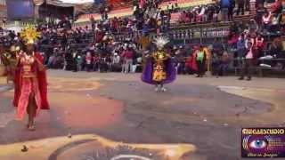 Carnaval de Oruro 2015 Primera Parte Tradicional Auténtica Diablada Oruro - Morenada Zona Nortre