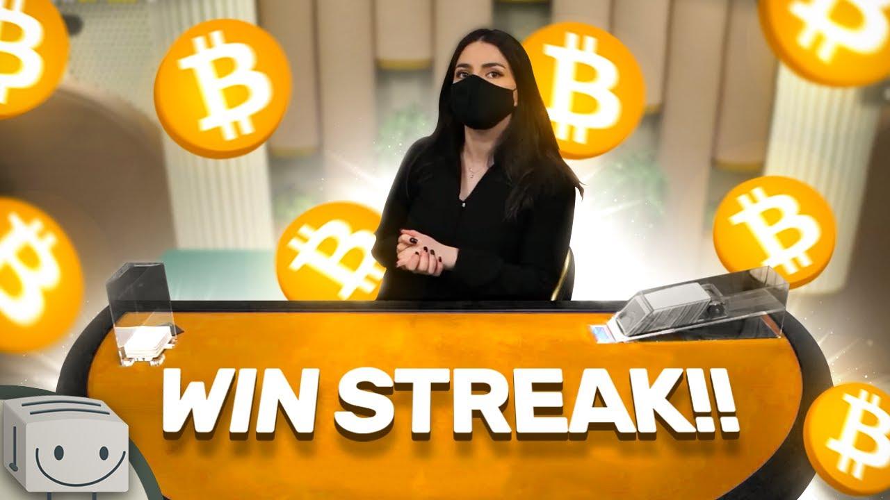 We Had A HUGE WIN STREAK On BLACKJACK!