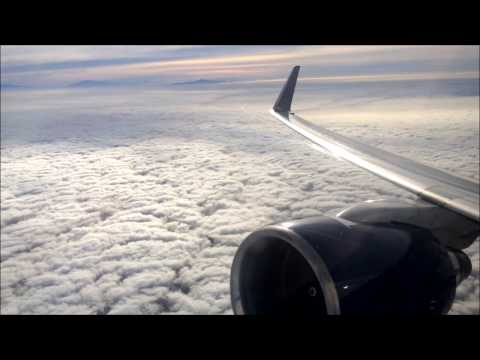 Delta 757-200 - Los Angeles to Seattle - Cloudy Morning Takeoff and Landing