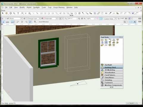Vectorworks Window Tool