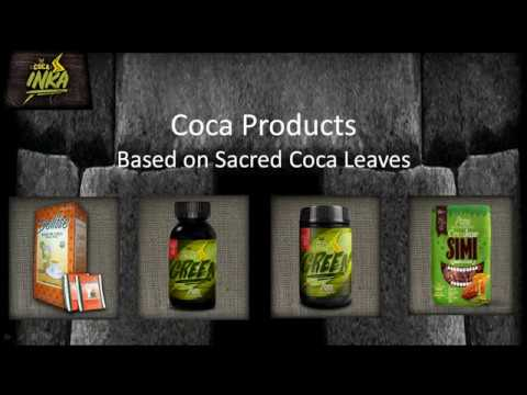 Coca Products Based on Sacred Coca Leaves
