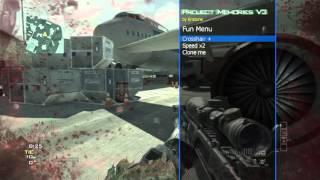 COD :MW3 Mod Menu Project Memories  for [1.24/PS3] DEX + CEX + Download