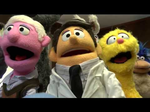Behind the scenes with local puppeteers