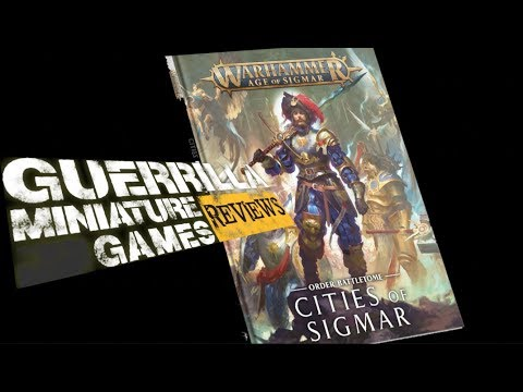 GMG Reviews - Order Battletome: Cities of Sigmar by Games Workshop