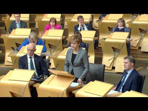 Statement by the First Minister: Security in Scotland - Scottish Parliament: 24 May 2017