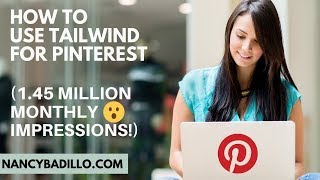 How To Use Tailwind For Pinterest | Pinterest SEO | Tailwind Tutorial