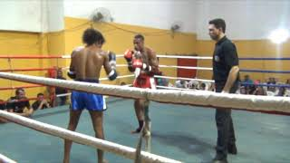 WARRIORS MUAYTHAI FIGHT - João Antunes (Demolição) vs Junior Pernalonga (Siam Fight)  - 57KG