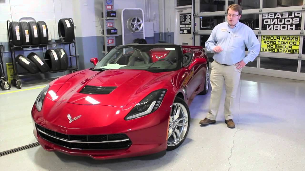 2014 Red Corvette C7 Stingray Convertible With Z51