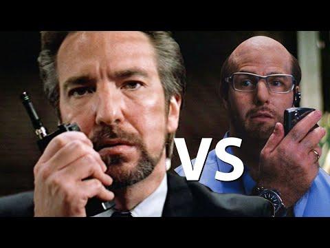 Your Morning Show - Les Grossman vs Hans Gruber