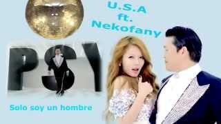 Gangnam Style Cantada en español - Karaoke  Por PSY Y Hyuna