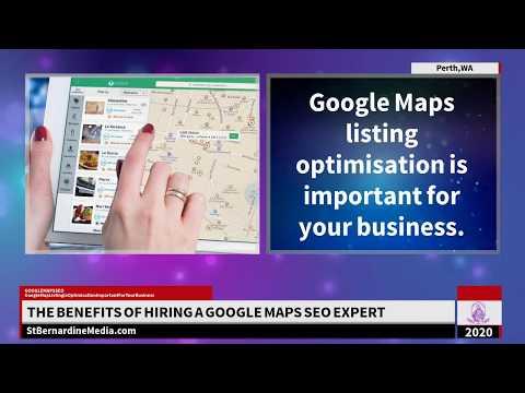The Benefits of Hiring a Google Maps SEO Expert