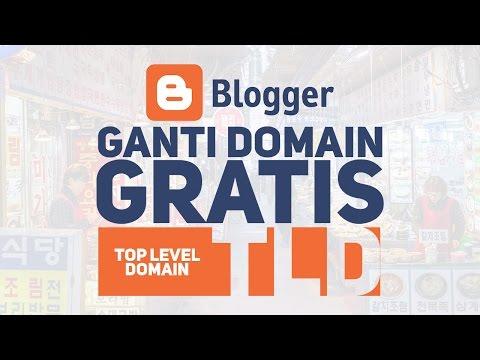 Cara ganti Domain blogspot.com menjadi TLD,  (.ga, .tk, .cf dan .ml) dengan FREENOM.COM