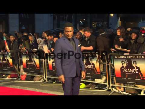 Danny Sapani at 'Trance' UK Premiere at Odeon West End on...