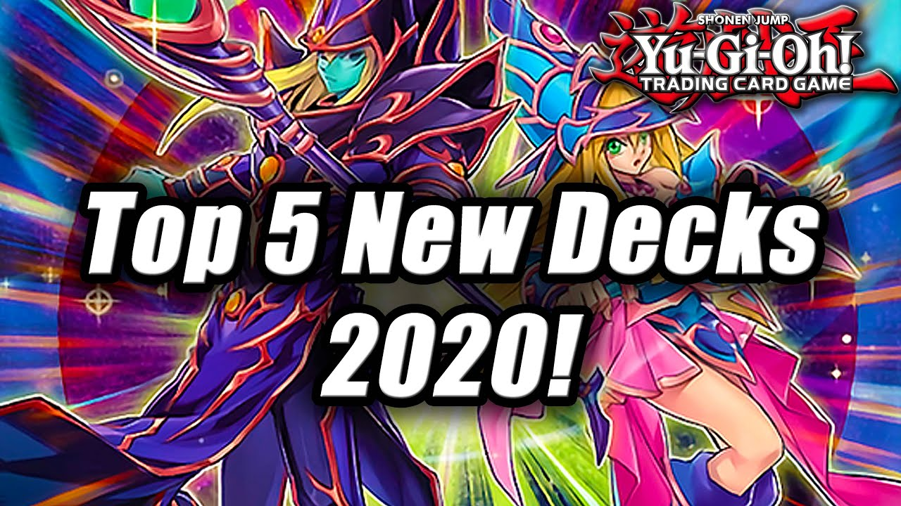 Best Yugioh Decks 2021 Yu Gi Oh! Top 5 New Decks for 2020!   YouTube