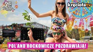 Pol'and'Rockowicze pozdrawiają! #polandrock2019