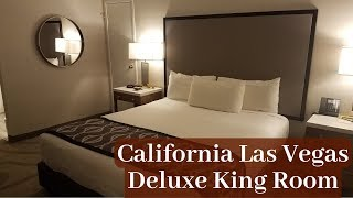 The California Hotel Las Vegas - Deluxe King Room