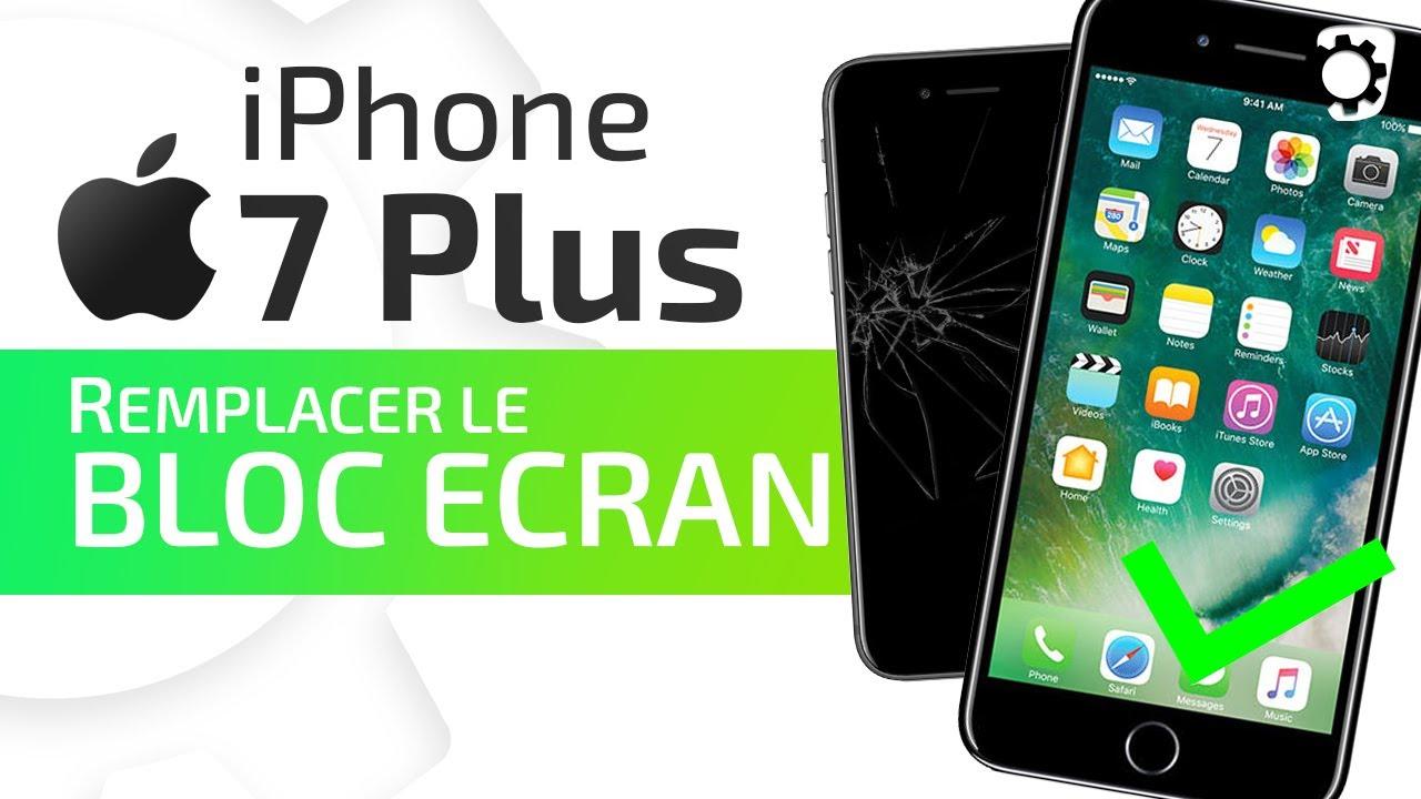 Tutoriel Iphone 7 Plus Remplacer Le Bloc écran Complet Vitre