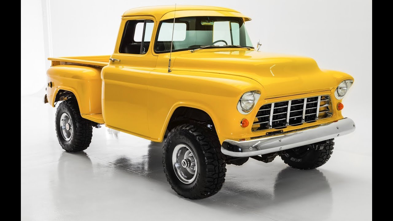 1956 Chevrolet Pickup 3100 4x4 Awesome Truck Youtube 1949 Chevy