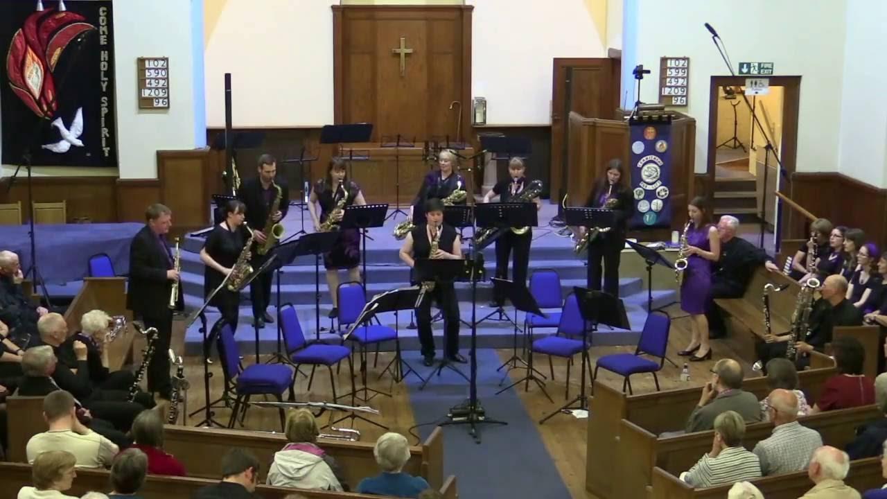 Beat Up Boogie - Equinox Saxophone Ensemble