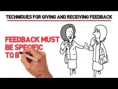 Constructive Feedback for Managers: Giving Feedback Effectively