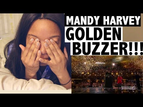 MANDY HARVEY - Simon's Golden Buzzer  - REACTION!