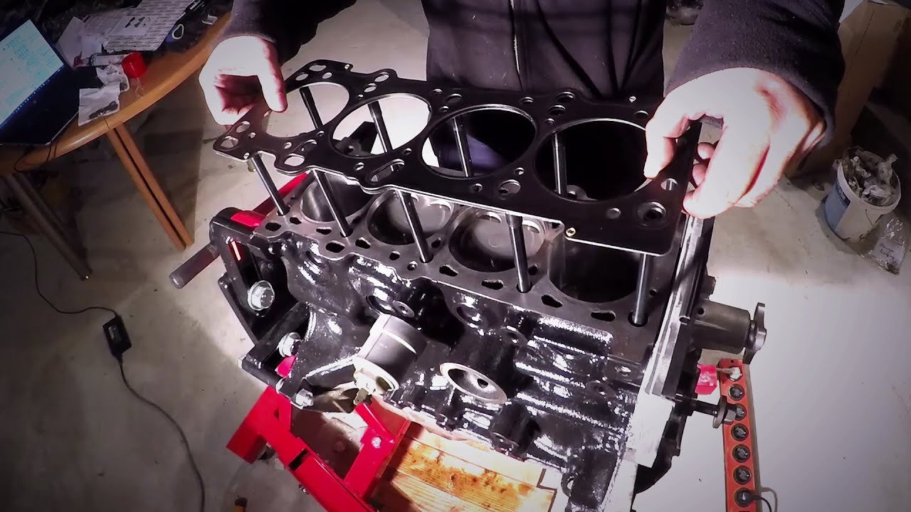 Mazda Forged BP Engine FULL Build