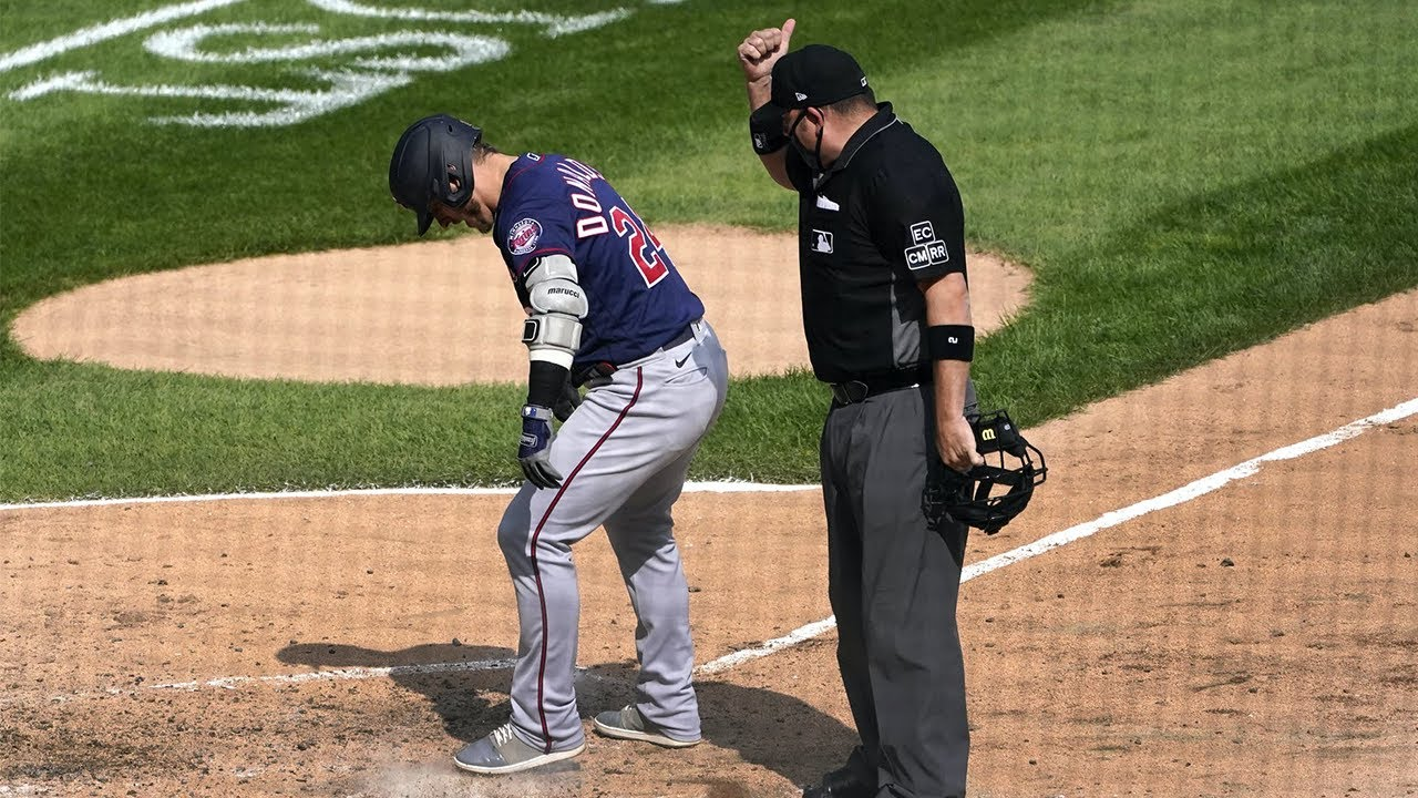 Josh Donaldson Ejected After Hitting Home Run! Covers Plate With Dirt!