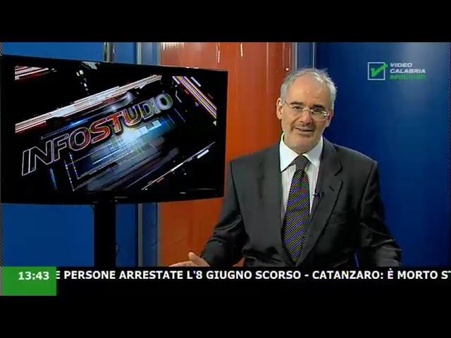 InfoStudio il telegiornale della Calabria notizie e approfondimenti  - 01 Luglio 2021 ore 13.30
