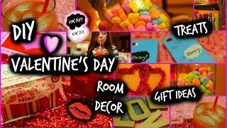 Diy Valentine's Day Treats, Room Decor, & Gift Ideas!!!   Cartneybreanne