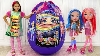 София и Подарок Куклы Пупси Единорожки в Гигантском яйце / Giant Egg with POOPSIE SURPRISE DOLLS